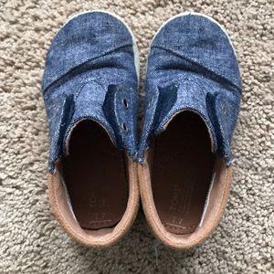 BabyBoys TOMS Chambray Boot